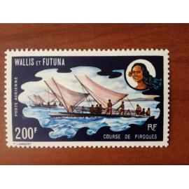 Wallis et Futuna  PA 43 ** MNH sans charniere année 1972 bateau