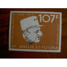 Wallis et Futuna  PA 48 ** MNH sans charniere année 1973 De Gaulle