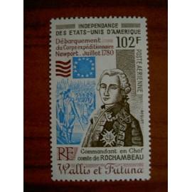 Wallis et Futuna  PA 102 ** MNH sans charniere année 1980 Independance des USA