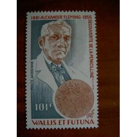 Wallis et Futuna  PA 105 ** MNH sans charniere année 1980 Fleming Pénicilline