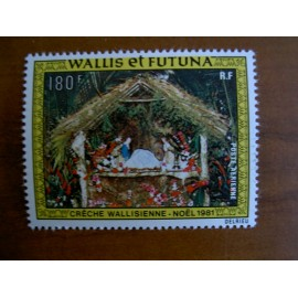 Wallis et Futuna  PA 113 ** MNH sans charniere année 1981 Noel Creche