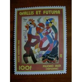 Wallis et Futuna  PA 114 ** MNH sans charniere année 1982 Pilioko Aloi