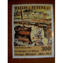 Wallis et Futuna  PA 115 ** MNH sans charniere année 1982 Georges Braque