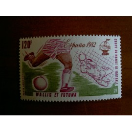Wallis et Futuna  PA 116 ** MNH sans charniere année 1982 Coupe du monde Football