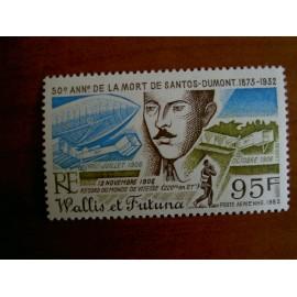 Wallis et Futuna  PA 117 ** MNH sans charniere année 1982 Santos Dumont