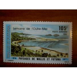 Wallis et Futuna  PA 118 ** MNH sans charniere année 1982 Paysage
