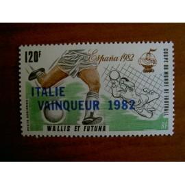 Wallis et Futuna  PA 119 ** MNH sans charniere année 1982 Coupe du monde Football