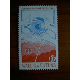 Wallis et Futuna  PA 120 ** MNH sans charniere année 1982 Journée des aveugles