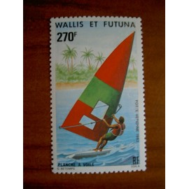 Wallis et Futuna  PA 122 ** MNH sans charniere année 1983 Planche à Voile