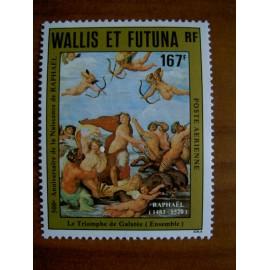 Wallis et Futuna  PA 129 ** MNH sans charniere année 1983 Raphael triomphe de Galatée