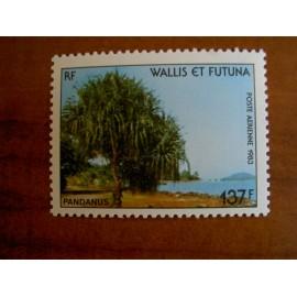 Wallis et Futuna  PA 130 ** MNH sans charniere année 1983 Arbre Pandanus