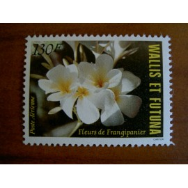 Wallis et Futuna  PA 134 ** MNH sans charniere année 1984 Flore Frangipanier Fleur