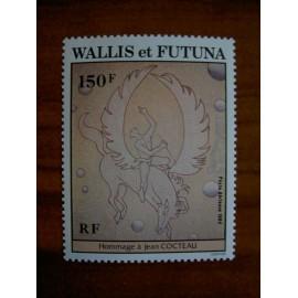 Wallis et Futuna  PA 136 ** MNH sans charniere année 1984 Jean Cocteau