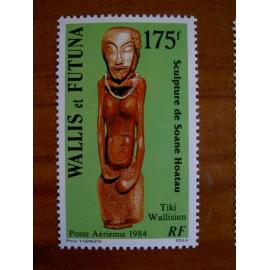 Wallis et Futuna  PA 137 ** MNH sans charniere année 1984 Tiki
