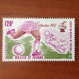 Wallis et Futuna  PA 112 ** MNH sans charniere année 1981 Coupe du monde Football