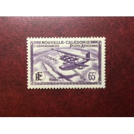NOUVELLE CALEDONIE PA Num 29 * MH avec charniere ANNEE 1938 Avec RF