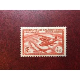 NOUVELLE CALEDONIE PA Num 30 * MH avec charniere ANNEE 1938 Avec RF