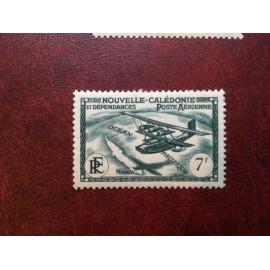 NOUVELLE CALEDONIE PA Num 31 * MH avec charniere ANNEE 1938 Avec RF