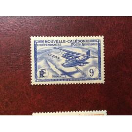 NOUVELLE CALEDONIE PA Num 32 * MH avec charniere ANNEE 1938 Avec RF