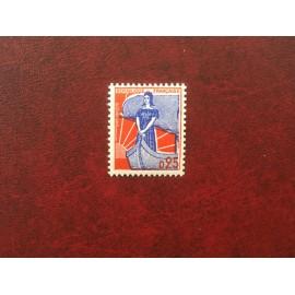 France 1234b ** Semeuse Varieté Type II en 1960