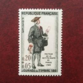 France 1285a ** Cravate noire Variété en 1961