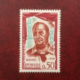 France 1304a ** Raimu en Cesar fond pale Variété en 1961