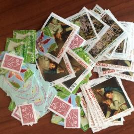 Sous Faciale100 timbres à 0,82Eurosoit82€