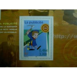 France 3373 ** publicité  en 2001