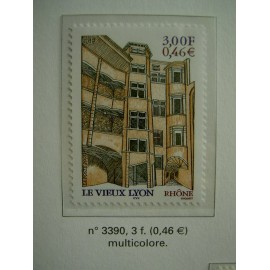 France 3390 ** Lyon  en 2001