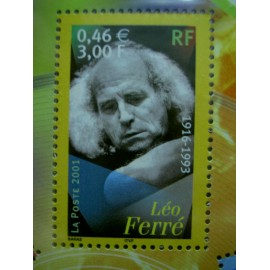 France 3392 ** leo Ferré  en 2001
