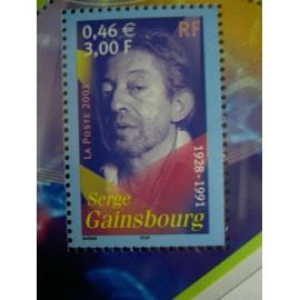 France 3393 ** S Gainsbourg  en 2001