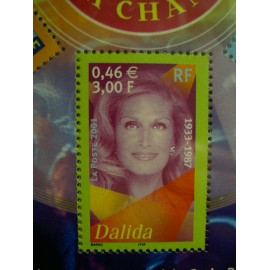 France 3394 ** Dalida  en 2001