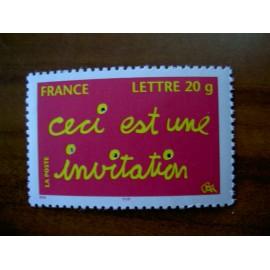 France 3760 ** invitation  en 2005