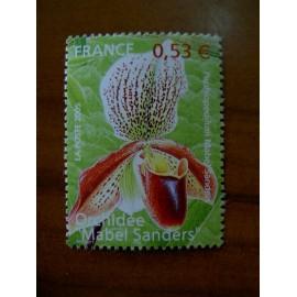 France 3763 ** Orchidées  en 2005