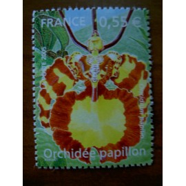 France 3765 ** Orchidées  en 2005