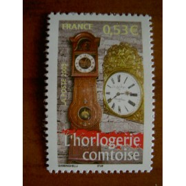 France 3768 ** Horloge Franche Comté  en 2005