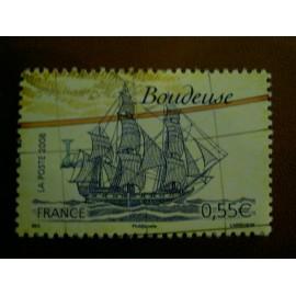 France 4251 ** Voiliers Boudeuse en 2008