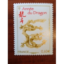 France 4631 ** Horoscope Chine Dragon  en 2012