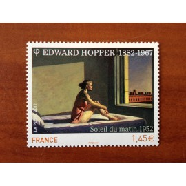 France 4633 ** Tableau Edward Hopper soleil du matin  en 2012