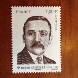 France 4635 ** Henri Queuille  en 2012