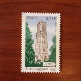 France 4641 ** Chemin de Saint Jacques Compostelle Paris en 2012