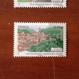 France 4643 ** Chemin de Saint Jacques Compostelle Puy Velay en 2012