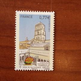 France 4644 ** Chemin de Saint Jacques Compostelle Arles Trophime en 2012