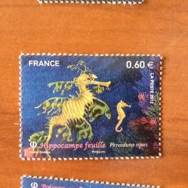 France 4647 ** Hippocampe feuille  en 2012