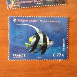 France 4648 ** Poisson Cocher  en 2012