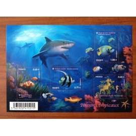 France F4646 ** Faune Marine Requin  en 2012