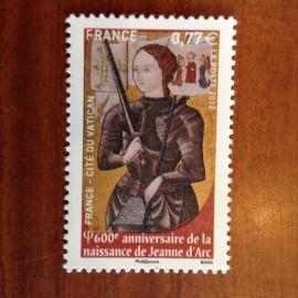 France 4654 ** Jeanne d'Arc   en 2012
