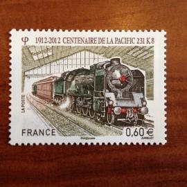 France 4655 ** Train Pacific 231K8  en 2012