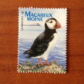 France 4659 ** Oiseaux Birds Macareux en 2012
