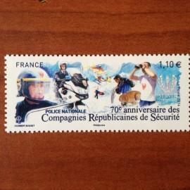 France 4922 ** Police Nationale CRS  en 2014